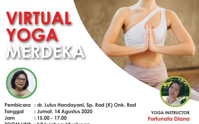Virtual Yoga Merdeka with Adi Husada Cancer Center