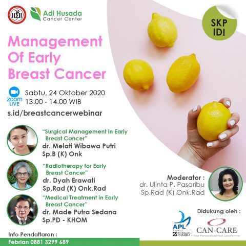 Webinar: Management Of Early Breast Cancer