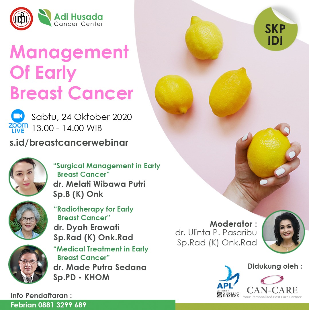Webinar Management Of Early Breast Cancer
