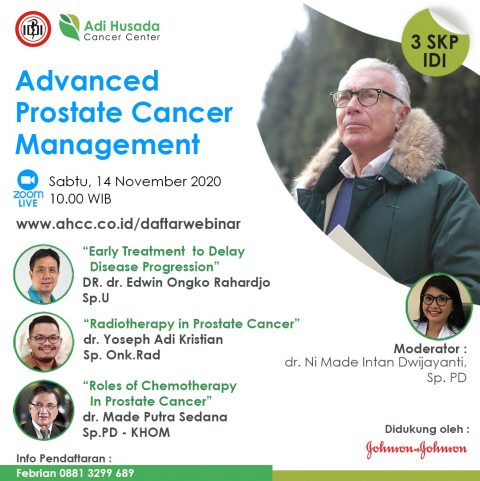 Webinar: Advanced Prostate Cancer Management