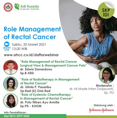Webinar: Role Managamenet of Rectal Cancer